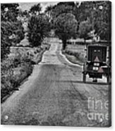 Black And White Buggy Acrylic Print