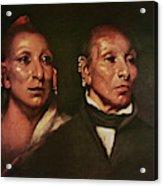 Black Hawk (1767-1838) Acrylic Print