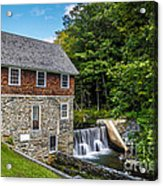 Blow Me Down Mill Cornish New Hampshire Acrylic Print