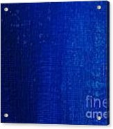 Blue Strokes Acrylic Print