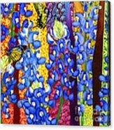 Bluebonnet Garden Acrylic Print