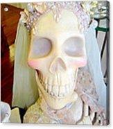 Blushing Bride Acrylic Print