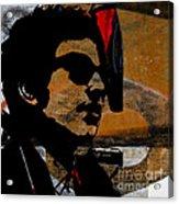 Bob Dylan Recording Session Acrylic Print