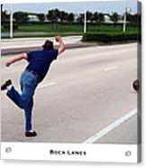Boca Lanes Acrylic Print