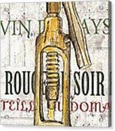 Bordeaux Blanc 1 Acrylic Print