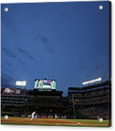 Boston Red Sox V Texas Rangers Acrylic Print