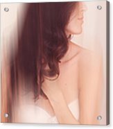Boudoir Photography 6. Impressionism. Exclusively For Faa Acrylic Print