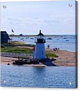 Brant Point Acrylic Print by Lorena Mahoney