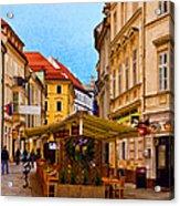 Bratislava Old Town Acrylic Print