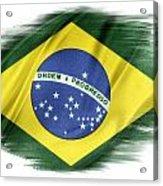 Brazilian Flag  Acrylic Print