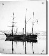 Brazilian Steamship, 1863 Acrylic Print
