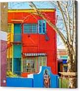 Bright Colors In Buenos Aires Acrylic Print