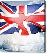British Flag 3 Acrylic Print