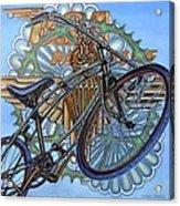 Bsa Parabike Acrylic Print by Mark Jones