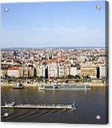 Budapest Cityscape Acrylic Print