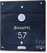 Bugatti Type 57 Acrylic Print