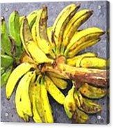 Bunch Of Banana Acrylic Print