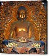 Byodo In - Amida Buddha Acrylic Print