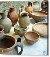 Byzantine Pottery Acrylic Print
