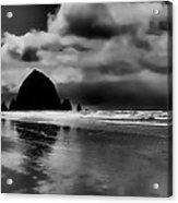 Cannon Beach - Oregon Acrylic Print by David Patterson