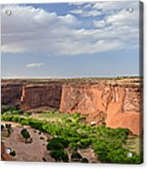 Canyon De Chelly From Sliding House Overlook Acrylic Print