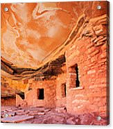 Canyon Ruins Acrylic Print
