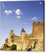 Carcassonne Languedoc-roussillon France Acrylic Print by Colin and Linda McKie