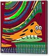 Cartoons Kids Love Electronic Survillance Organic Spy Agents Acrylic Print
