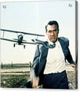 Cary Grant In North By Northwest  Acrylic Print by Silver Screen