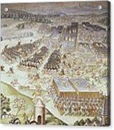 Castello, Fabrizio 1562-1617. Battle Acrylic Print