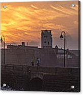 Castle Of Saint Sebastian Cadiz Spain Acrylic Print