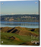 Chambers Bay Golf Course - University Place - Washington Acrylic Print