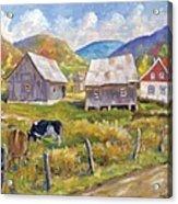 Charlevoix North Acrylic Print