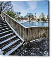 Charlotte North Carolina Marshall Park In Winter Acrylic Print