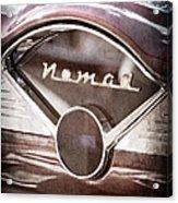 Chevrolet Belair Nomad Dashboard Emblem Acrylic Print