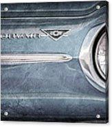 Chevrolet Corvair Emblem Acrylic Print