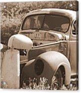 Chevrolet Rust Bucket Acrylic Print