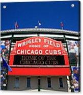Chicago Cubs - Wrigley Field Acrylic Print