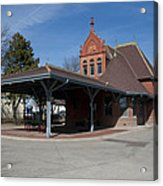 Chicago Rock Island Pacific Railway Depot Acrylic Print