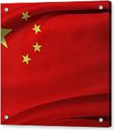 Chinese Flag Acrylic Print