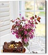 Chocolate Cake Acrylic Print
