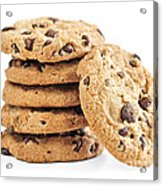 Chocolate Chip Cookies Acrylic Print