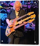Chris Squire Of Yes Acrylic Print