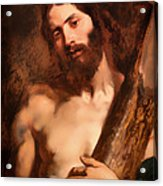Christ Carrying The Cross Acrylic Print