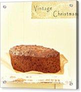 Christmas Cake Acrylic Print