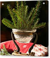 Christmas Decoration Acrylic Print