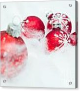 Christmas Decorations Acrylic Print