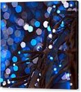 Christmas Lights Acrylic Print