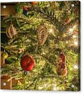 Christmas Tree Ornaments Acrylic Print
