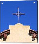 Church Cross Acrylic Print